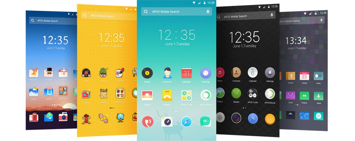 Find beautiful Android Themes for free in our store